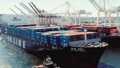 Photo of SM Line signs with MSC and Maersk on the transpacific