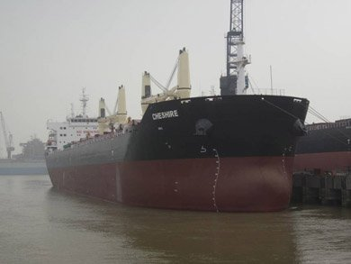 Crew evacuated from fire-ridden Bibby Line bulk carrier