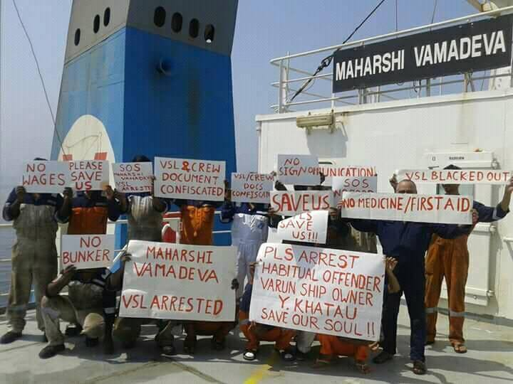 Serial crew abandonment offender Varun banned from UAE waters