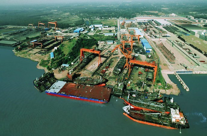 Qingshan Shipyard to transform into a port