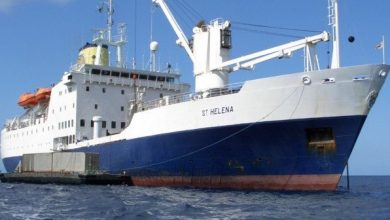 Photo of RMS St Helena becomes a floating armory