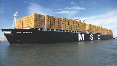 Photo of MSC exercises options for five 23,000 teu boxships at DSME