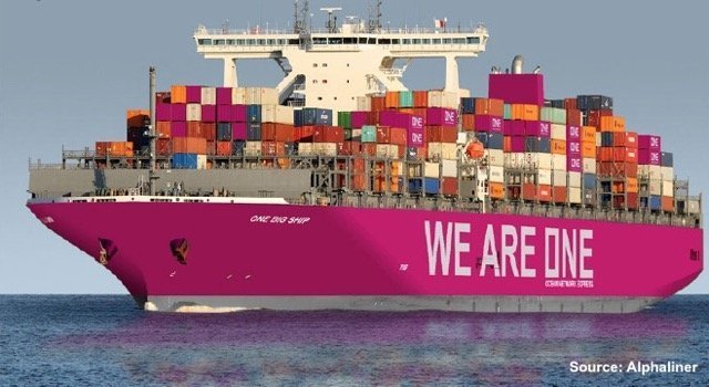 ONE's magenta ships set to turn heads