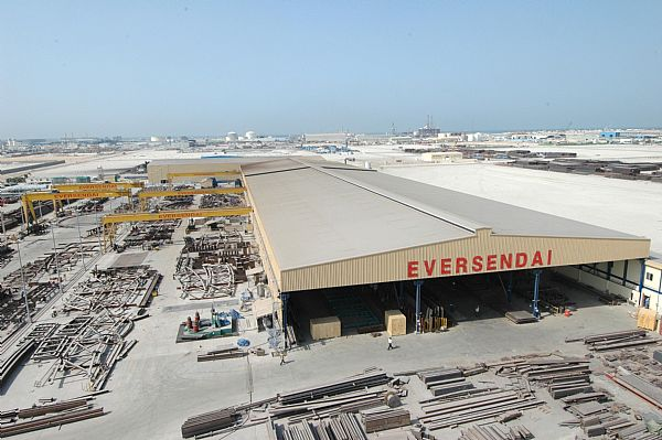 Eversendai awarded Saudi Aramco offshore fabrication contract