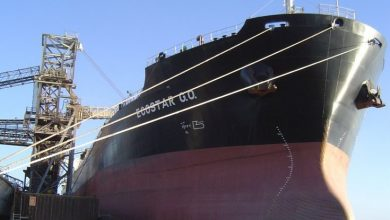 Photo of Nissen Kaiun panamax picked up by the other George Economou