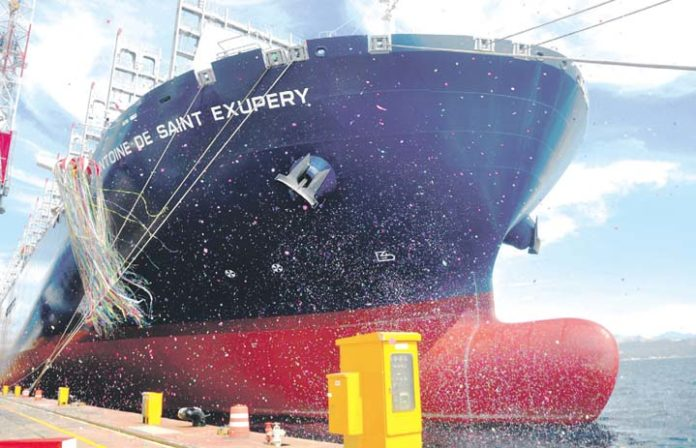 Philippines joins elite 20,000 teu club