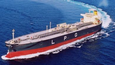 Photo of Kumiai Navigation signs for third dual-fuel VLGC newbuild