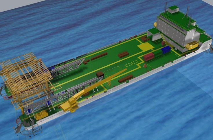 Barge decommissioning concept unveiled