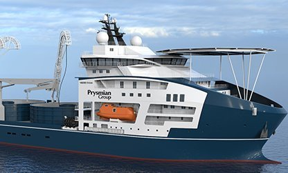Vard to build cable lay vessel for Prysmian Group