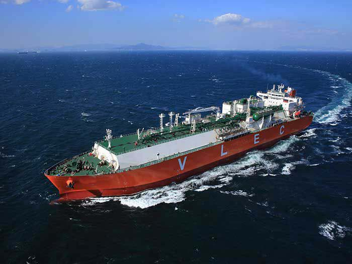 MOL invests in six Reliance ethane carriers