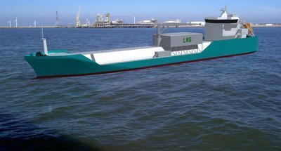 First Japanese LNG bunkering vessel ordered