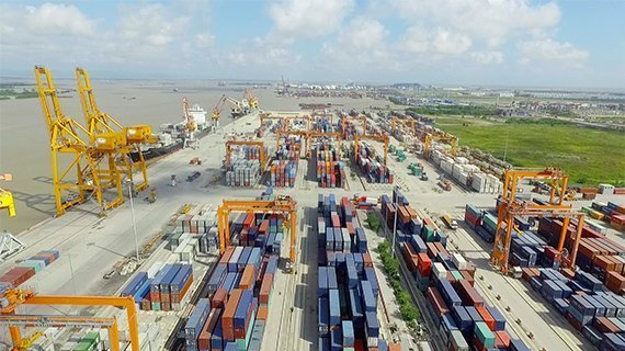 MOL launches container terminal in Haiphong