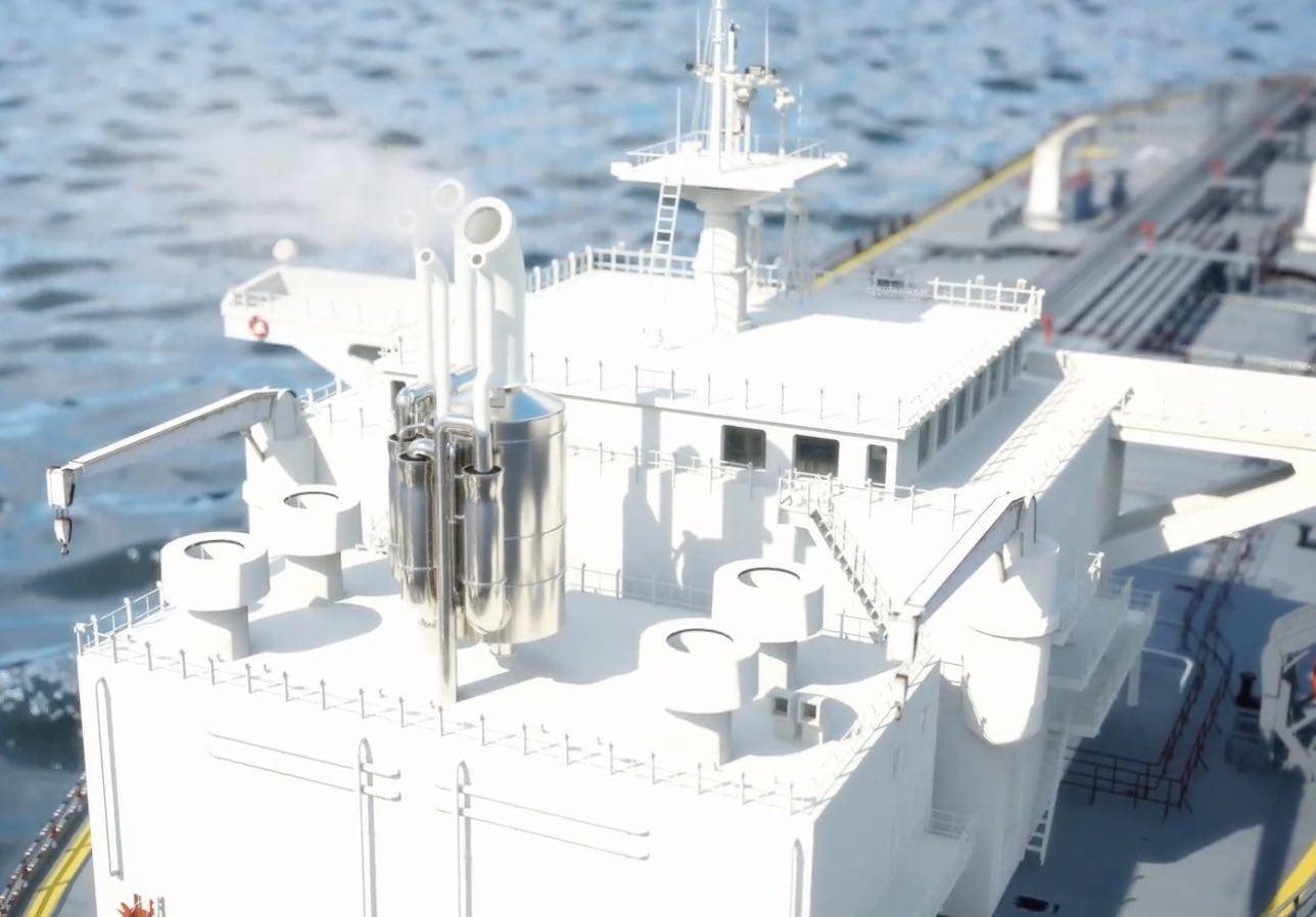 Frontline buys into scrubber manufacturer -海事新闻| AIS Marine Traffic