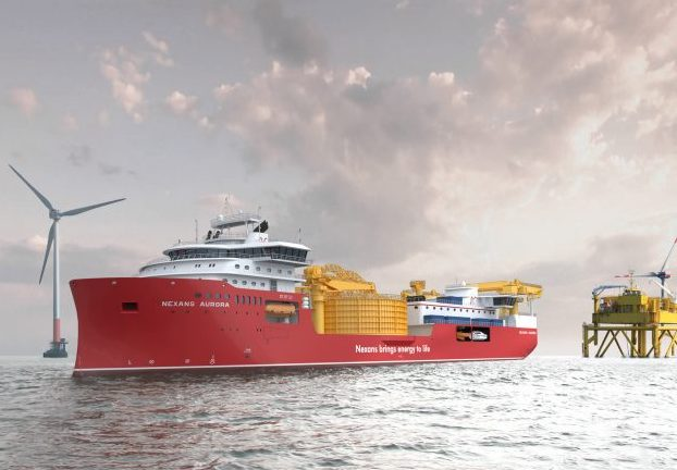 Nexans orders cable lay vessel at Ulstein