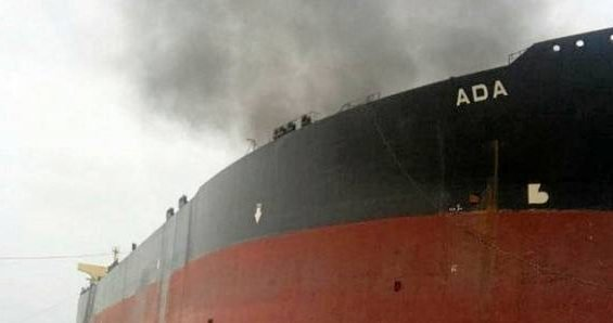 Fire hits VLCC at Gadani