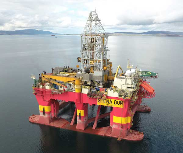 Stena Drilling secures semi-submersible contract from Total