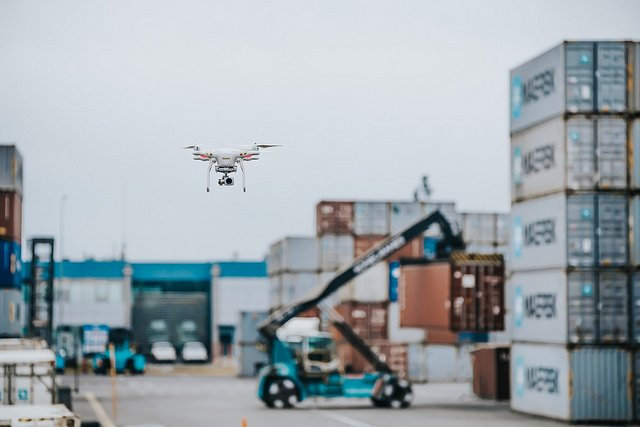 APM Terminals gives a view of how drones are changing port operations