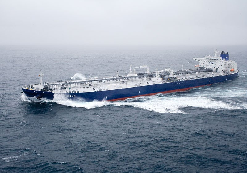 Sovcomflot orders LNG-fuelled aframax tanker pair for Rosneft