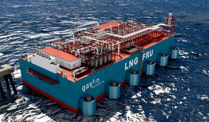 Gasfin Development orders LNG FRU at Jiangnan Shipyard