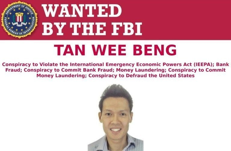 Singapore bunkering executive placed on FBI's most wanted list