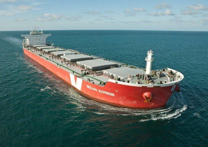 Interocean circles Vroon post-panamax bulker