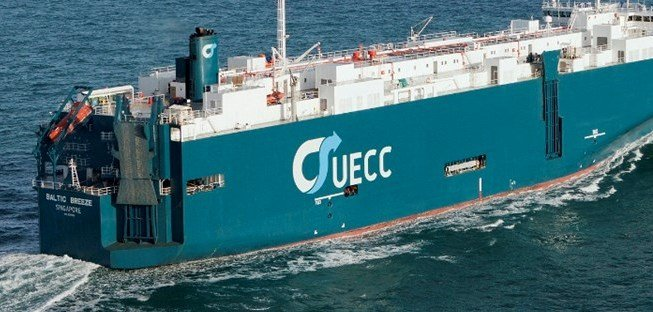 Wallenius car carrier hit by fire off Germany