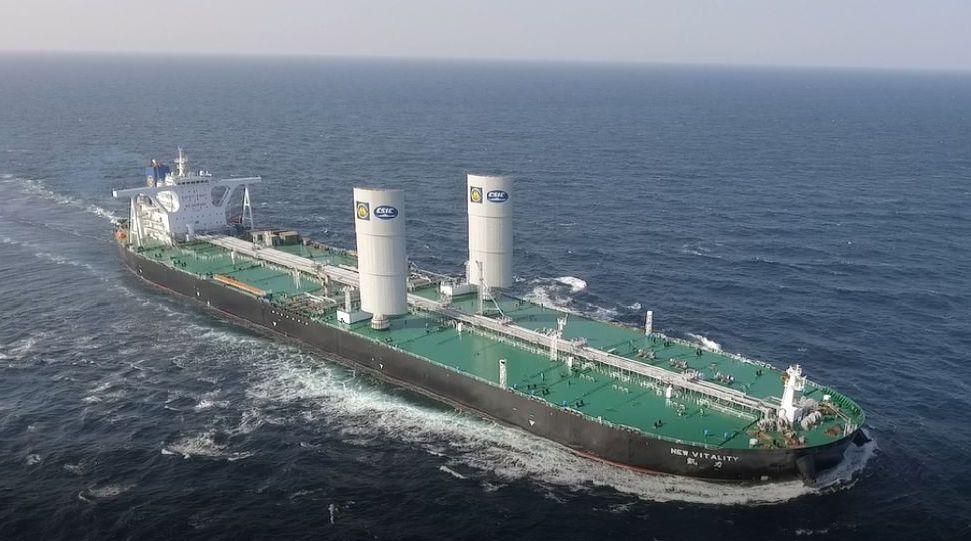 DSIC and China Merchants test landmark sail propulsion