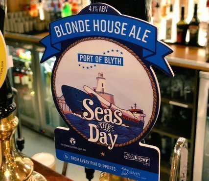 UK port launches charity ale