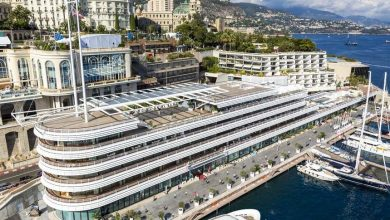 Photo of Maritime CEO Forum on pole with Monaco debut