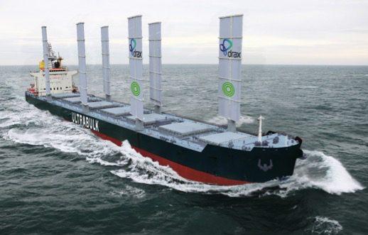 Ultrabulk trials sail technology