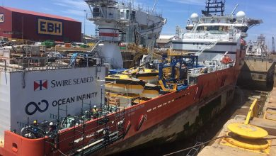 Photo of South Africa's largest drydock overhauled