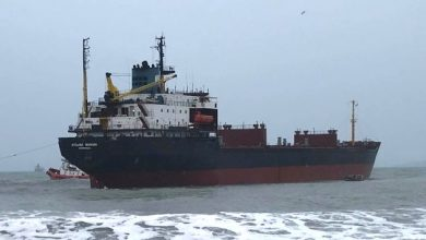 Photo of Russian bulker to be auctioned in the UK