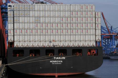 Maersk and ZIM boxships collide at Busan Port