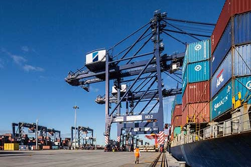 Dockworkers in Sydney and Brisbane on strike against Hutchison Ports