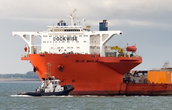 Boskalis heavy lift vessel hit by pirates off West Africa
