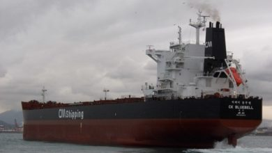 Photo of Chang Myung Shipping bulker attacked by pirates near Singapore
