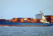 Photo of Borealis offloads feeder boxship
