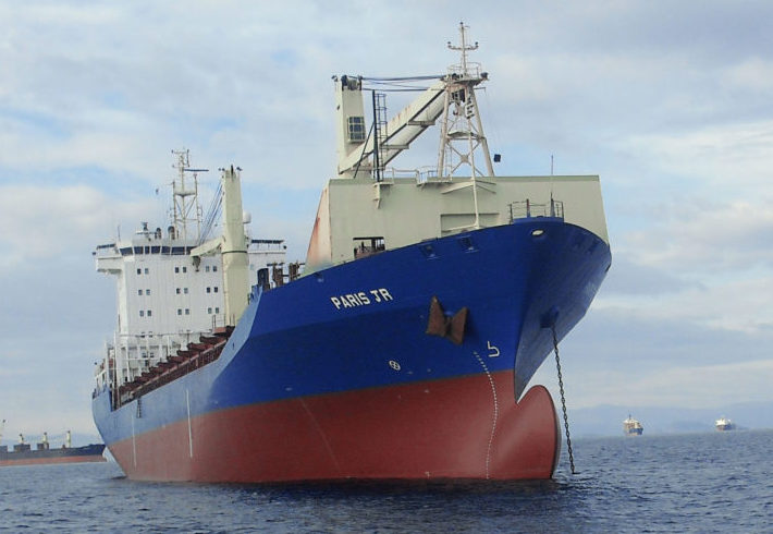 Goldenport linked to Shoei Kisen feeder containership