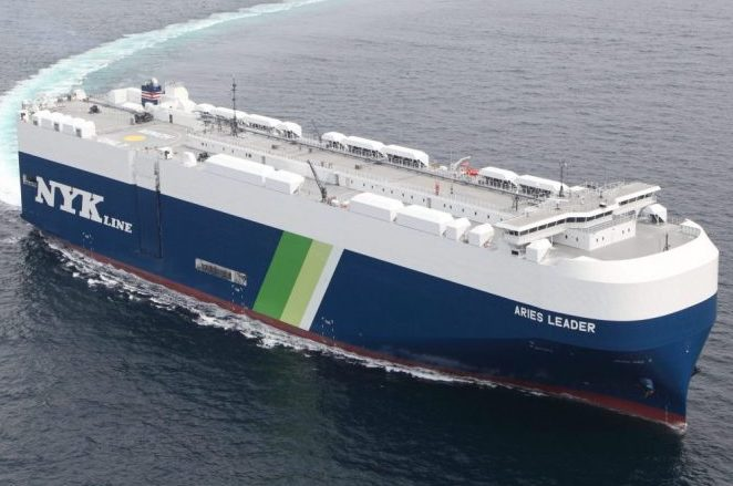 NYK orders LNG-fuelled PCTC at Shin Kurushima