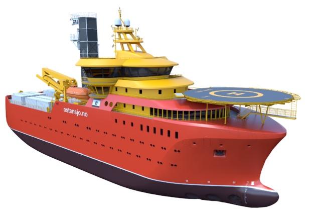 Østensjø Rederi ordering four offshore wind vessels
