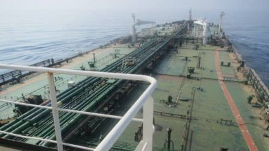 Photo of Holed Iranian tanker leaves oily slick across the Red Sea
