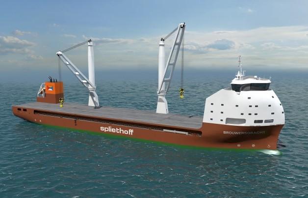 Spliethoff heads to Mawei for newbuilds