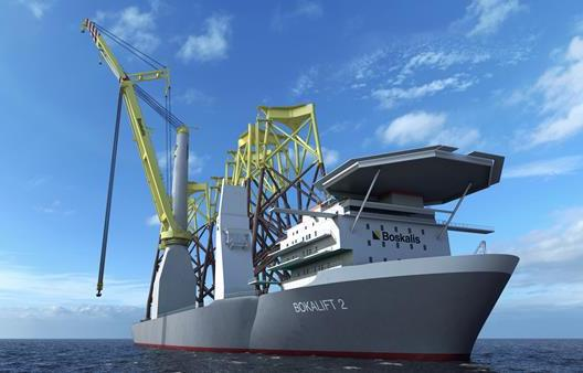 Boskalis orders new crane vessel for Taiwan offshore wind contract