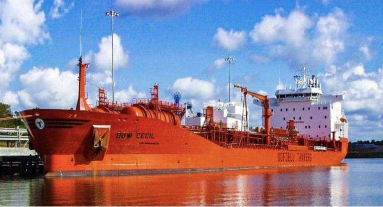 Mnambithi Group enters shipowning with Odfjell chemical tanker acquisition