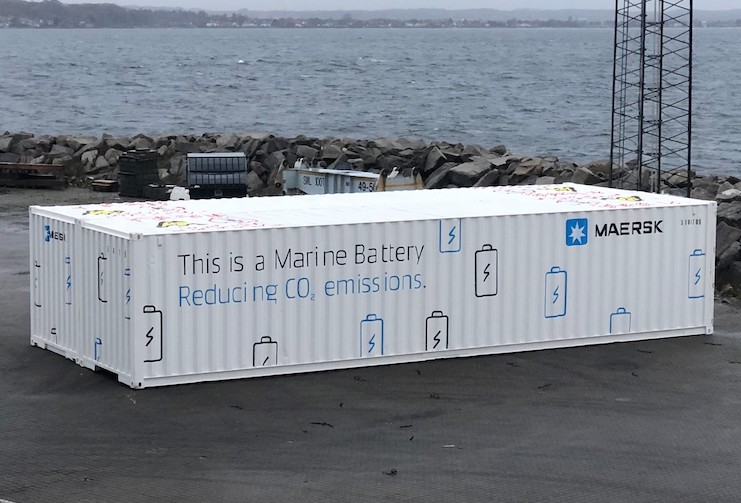 Maersk calls on battery makers for help