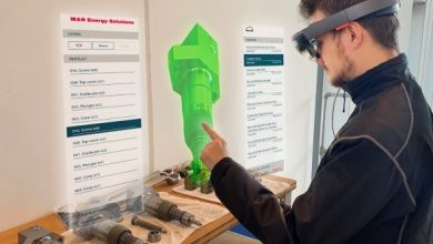 Photo of The engine room gets the augmented reality treatment
