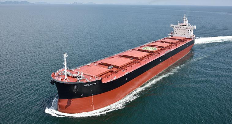 Sea Pioneer takes Japanese kamsarmax