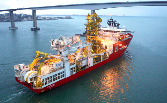 DOF Subsea and TechnipFMC find work for pipelay support vessel