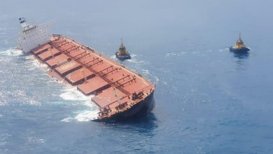 Photo of Polaris Shipping VLOC runs aground off Brazil