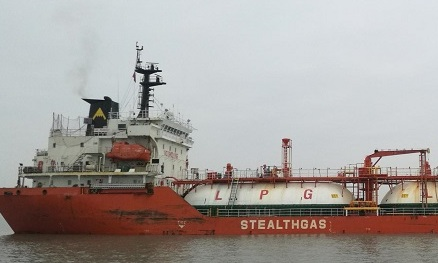 Stealth Gas LPG carrier suffers leak in China
